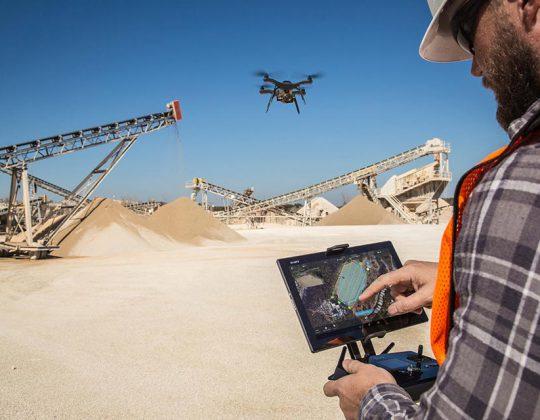 Drones na Construção Civil e Inspeção de Infraestruturas
